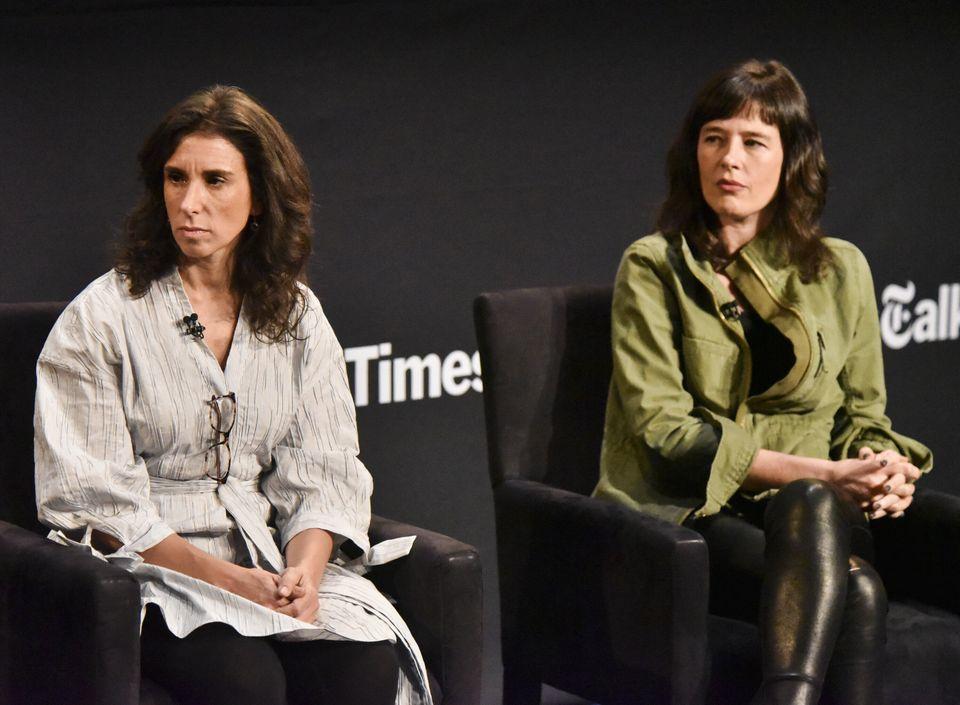 Jodi Kantor e Megan Twohey, as autoras da reportagem que lançou luzes sobre conduta predadora...