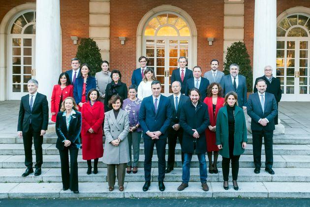 El nuevo equipo de Gobierno de