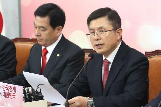(자료사진) 황교안 자유한국당