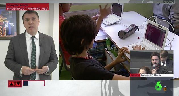 Joaquim Bosch en 'Al Rojo Vivo'