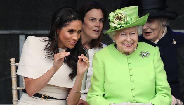 Reina Isabel II y Meghan