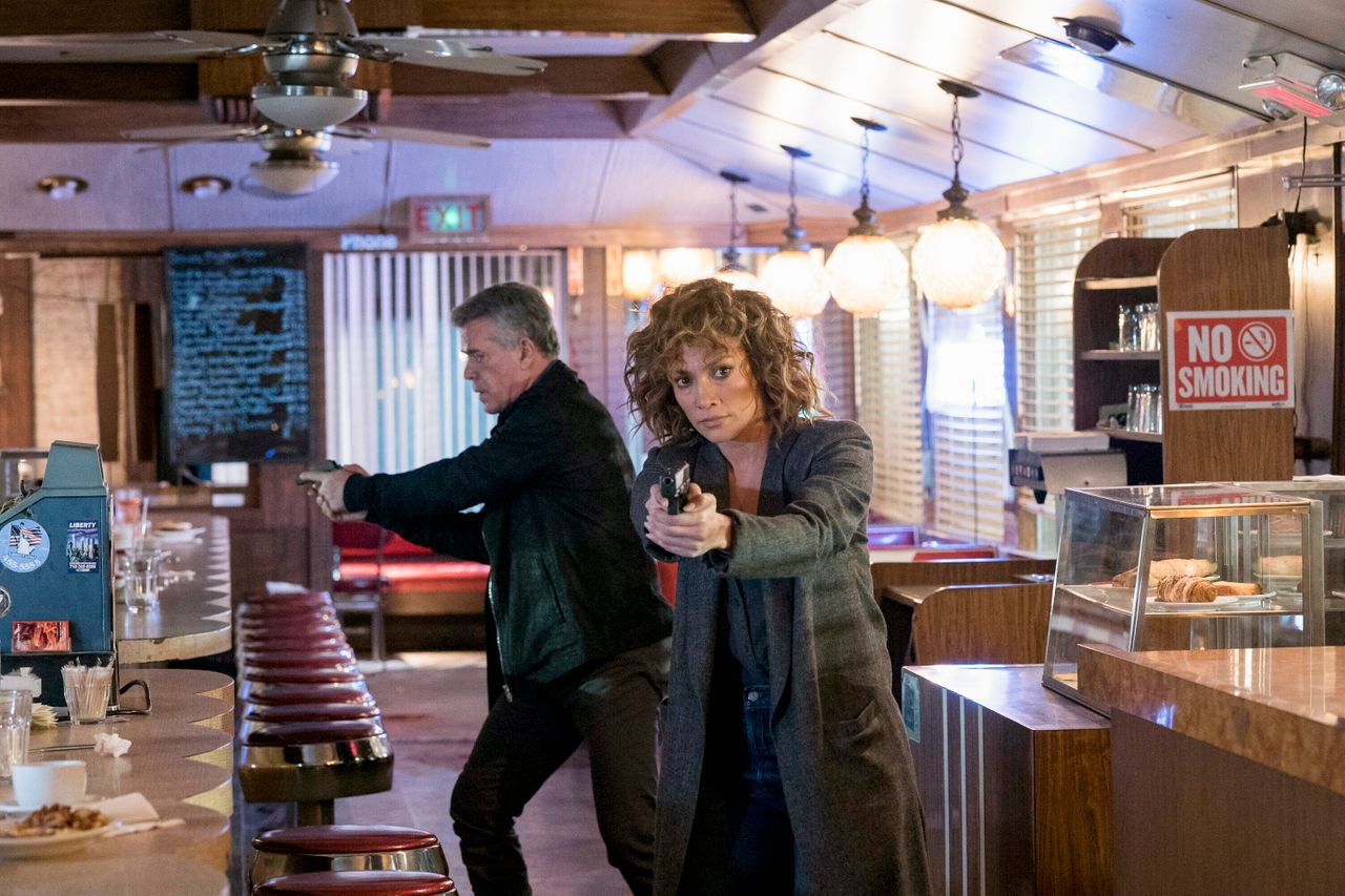 """Ray Liotta and Jennifer Lopez on """"Shades of Blue."""""""