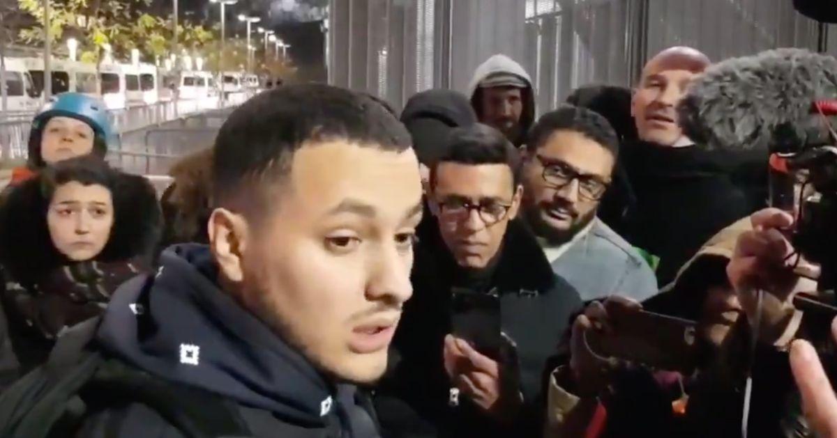 Taha Bouhafs remis en liberté après la sortie perturbée de Macron au théâtre