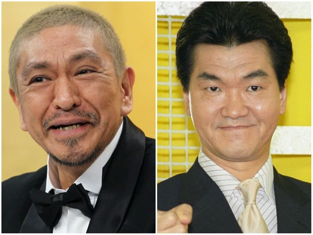 松本人志さん、島田紳助さん
