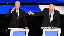 のBernieダ攻撃Joe Biden無視できない