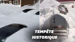 Au Canada, Saint-Jean ensevelie sous la neige, l'armée appelée en