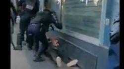 Une enquête de l'IGPN ouverte après une vidéo d'un manifestant frappé à terre par un