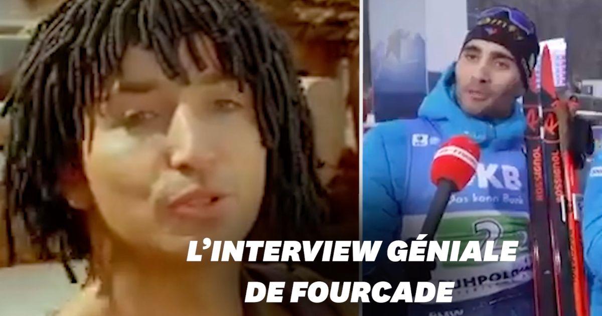 """Martin Fourcade cite """"Astérix et Obélix"""" en pleine interview"""