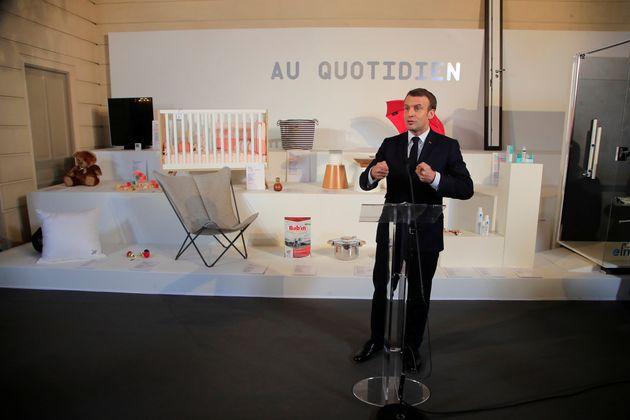 Emmanuel Macron inaugurant la Grande Exposition du Fabriqué en France le vendredi 17
