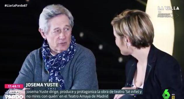 Josema Yuste en 'Liarla