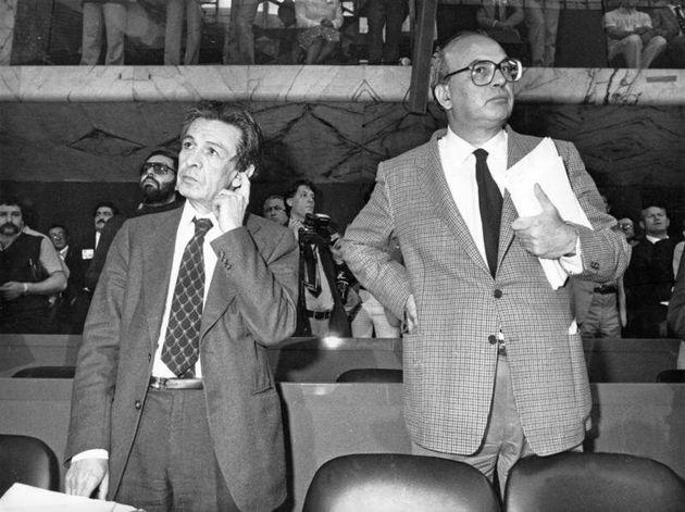 22/05/1981 Roma, congresso del Partito Repubblicano, nella foto il segretario del Partito Comunista Enrico...