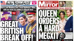 'The Great British Break Off': How North American And UK Media Reported Meghan And Harry's