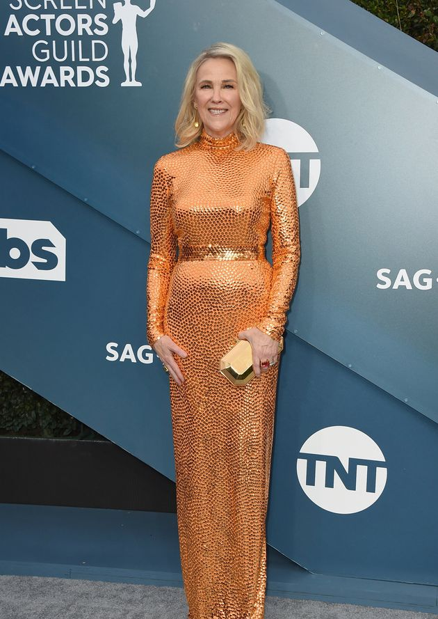 Catherine O'Hara arrives at the 26th annual Screen Actors Guild Awards at the Shrine Auditorium &...