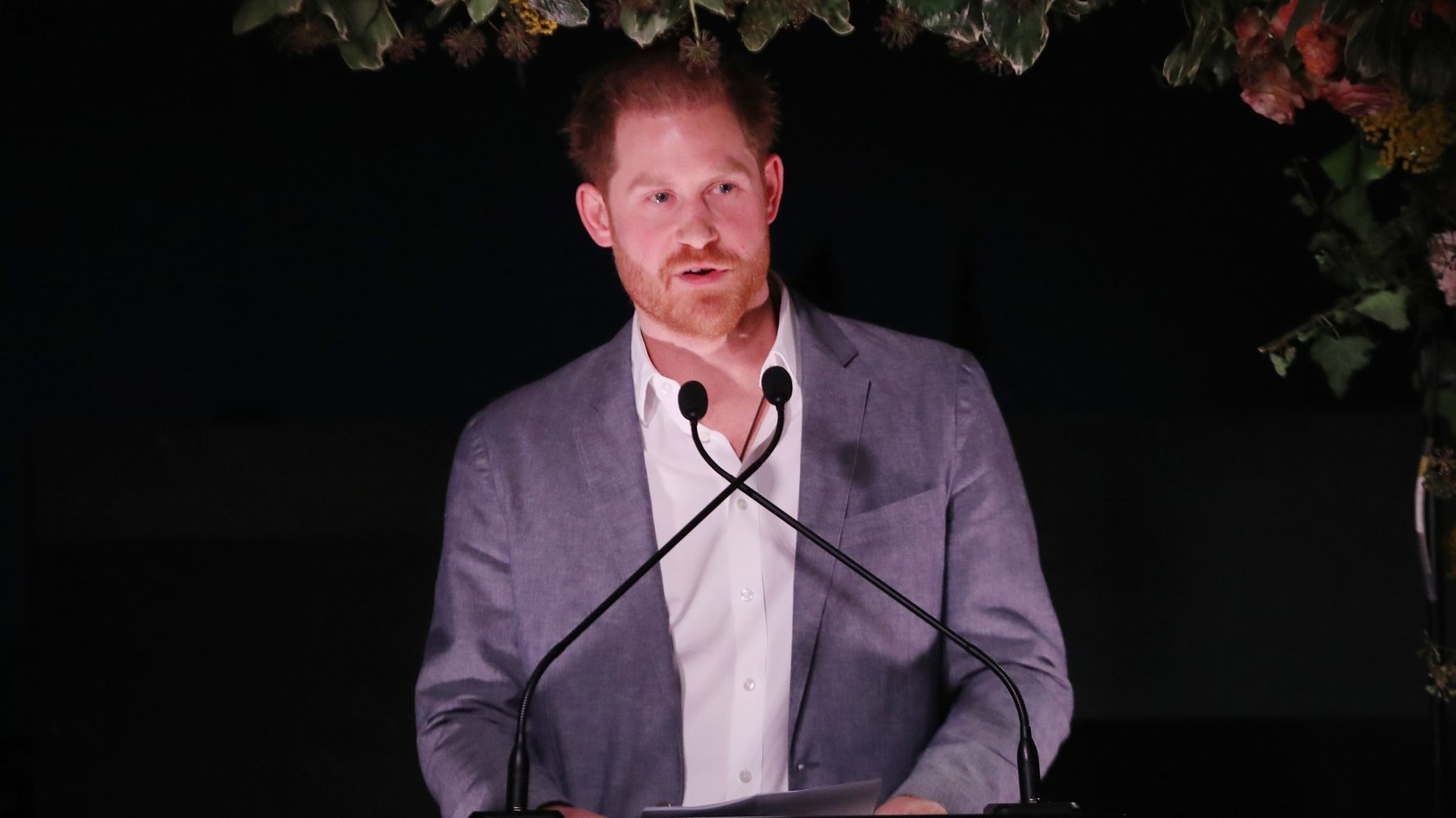 Prince Harry Talks About Royal Exit In Deeply Personal Speech At Sentebale Dinner