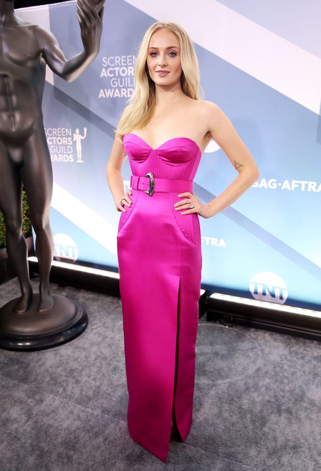LOS ANGELES, CALIFORNIA - JANUARY 19: Sophie Turner attends the 26th Annual Screen ActorsGuild Awards...