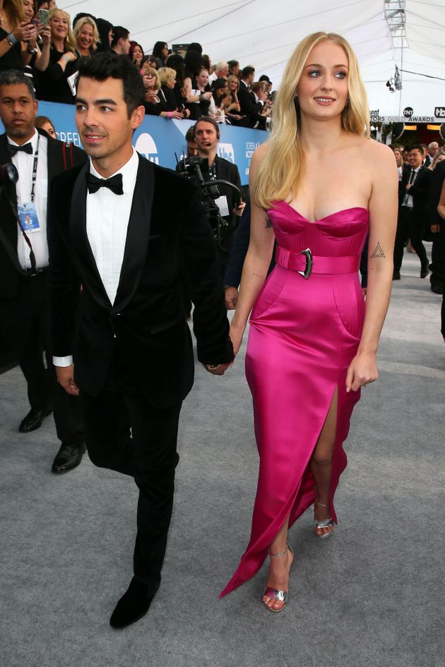 Sophie Turner and Joe Jonas arrive for the 26th Annual Screen Actors Guild