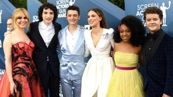 Look How Grown Up The 'Stranger Things' Kids Look On The SAG Awards Red