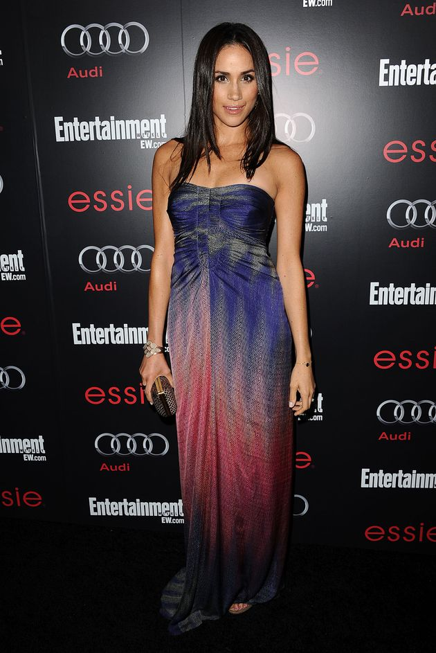 Meghan Markle attends the Entertainment Weekly Screen Actors Guild Awards pre-party at Chateau Marmont...