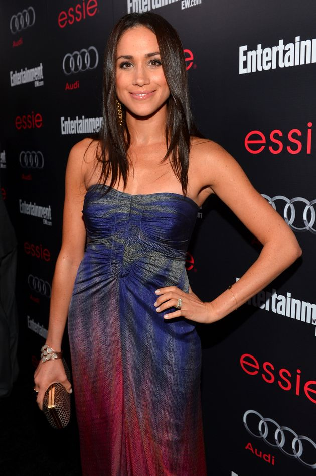 Meghan Markle attends the Entertainment Weekly Pre-SAG Party hosted by Essie and Audi held at Chateau...