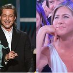 Brad Pitt Jokes About Difficult Marriages At SAGs, Camera Cuts To Jennifer