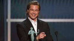Tinder, ses divorces, fétichisme des pieds... Brad Pitt a bien fait rire la salle des SAG