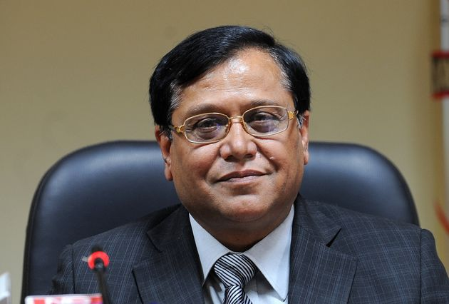 VK Saraswat in a file