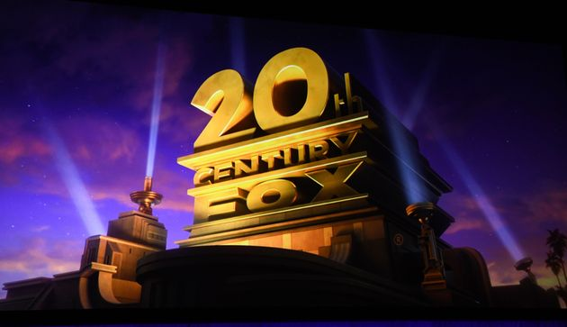 View of the 20th Century Fox logo during the CinemaCon Walt Disney Studios Motion Pictures Special presentation...