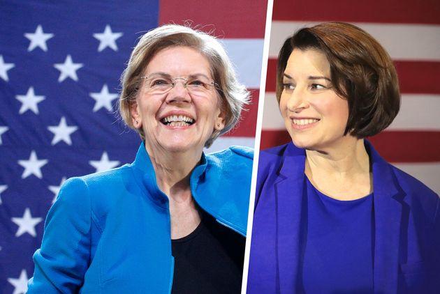 Elizabeth Warren et Amy Klobuchar sont soutenues par le