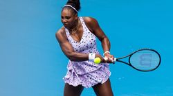 Australian Open: Serena Williams Aces First Round After Air Quality