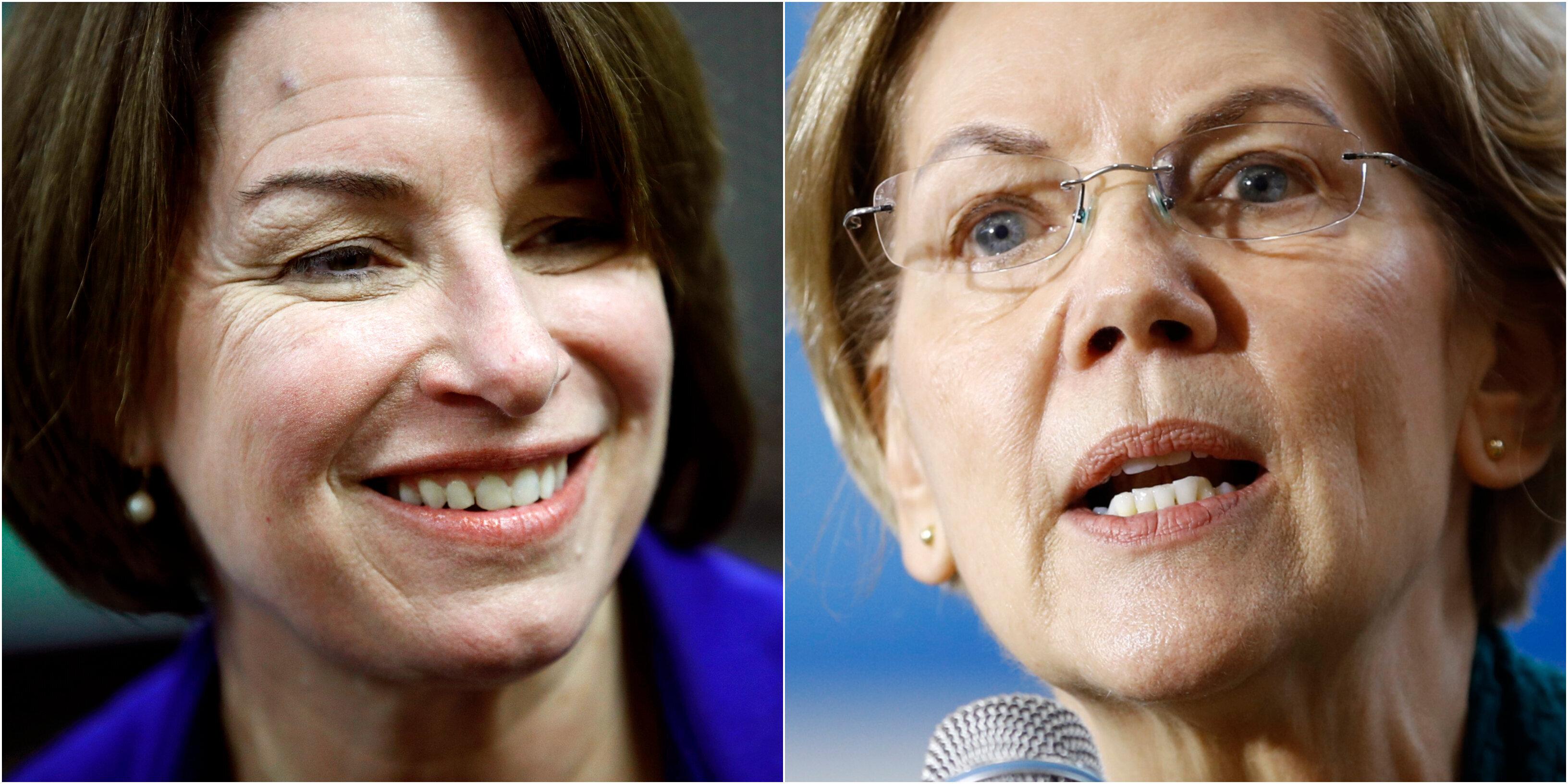 'The New York Times' anuncia su apoyo a las senadoras Klobuchar y Warren