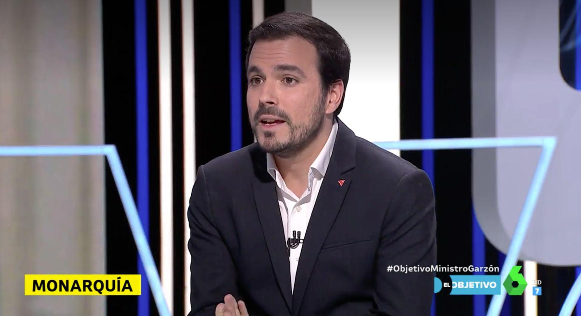 Alberto Garzón habla del motivo por el que no llamó 'ciudadano Felipe de Borbón' al rey al prometer el cargo