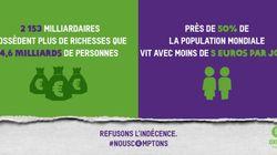 En France, 7 milliardaires possèdent plus que les 30% les plus
