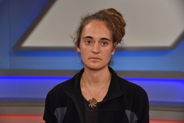 06 November 2019, North Rhine-Westphalia, Cologne: The activist Carola Rackete became known as a captain...