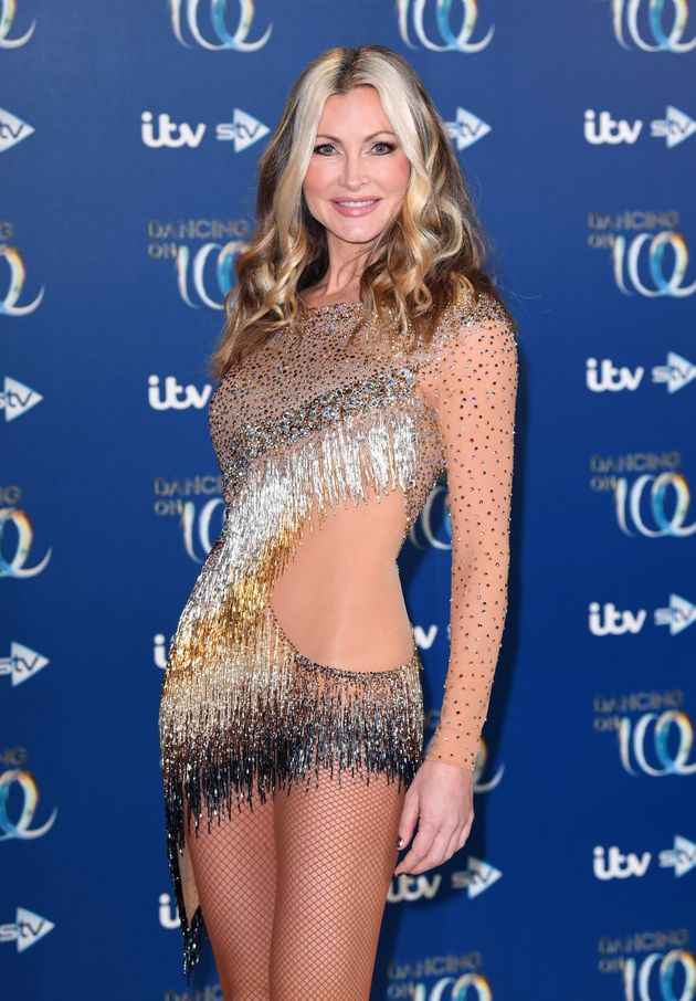 Caprice at this year's Dancing On Ice