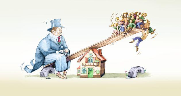 Sempre più diseguaglianza. Duemila ricconi possiedono più di 4,6 miliardi di