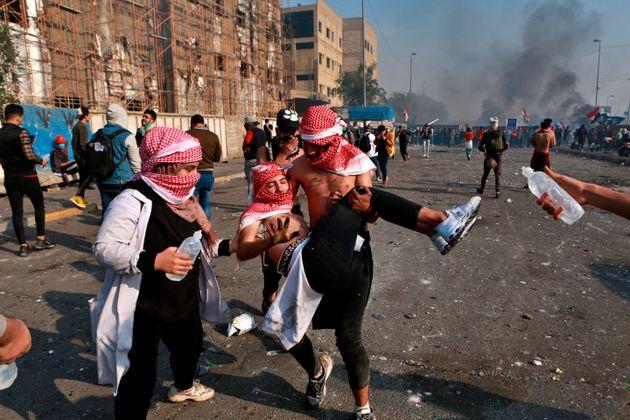 Νέες αντικυβερνητικές διαδηλώσεις στο Ιράκ- συγκρούσεις με δυνάμεις