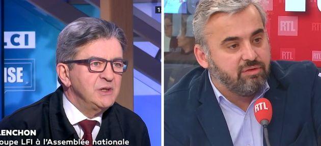 Jean-Luc Mélenchon sur LCI et Alexis Corbière sur