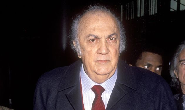 Writer/Director Federico Fellini attends the Press Conference to Announce the John Huston Award for Artists...