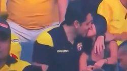 Pillan una infidelidad gracias a una 'Kiss