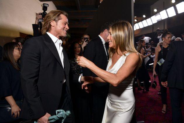 Brad Pitt a de nouveau volé la vedette aux SAG Awards avec son discours… et Jennifer