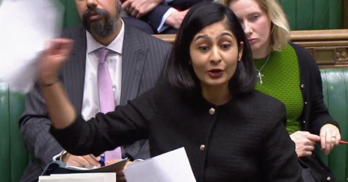 Labour MP Zarah Sultana Slams 'Crushing' Student Debt, Brandishing Loan Statement In Commons
