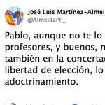 Iglesias y Almeida se enzarzan en Twitter por la 'censura parental':