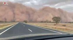 Non c'è pace per l'Australia: la spaventosa tempesta di sabbia in