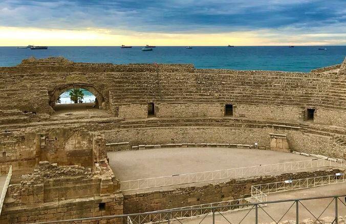 Anfiteatro romano de Tarragona.