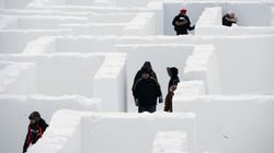 Manitoba's Record-Breaking Snow Maze Is Worth Braving Prairie