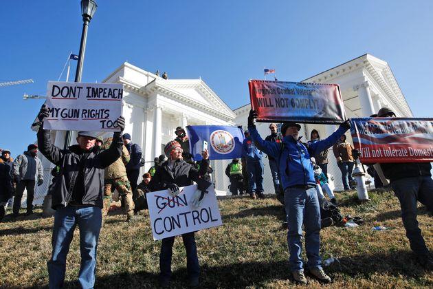ΗΠΑ: Μεγάλη διαδήλωση υπέρ της οπλοκατοχής στη