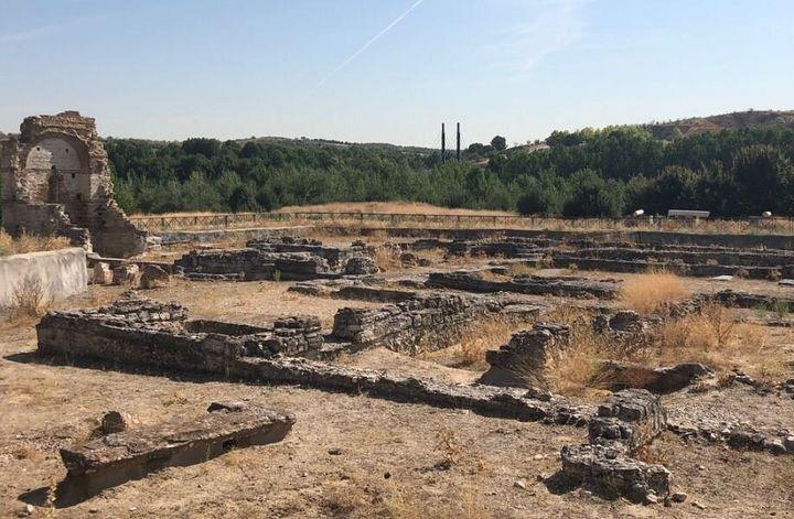 El parque arqueológico de Carranque en Toledo.
