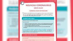 Contre le coronavirus, les recommandations si vous allez ou revenez de