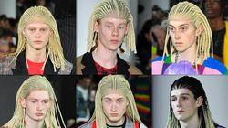 """白人モデルに黒人多用の髪型""""ウィッグ"""" 「コムデギャルソン」のショーに批判の声"""