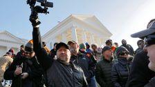 Die Kolossale Waffe Kundgebung In Richmond Wurde Kooptiert Von Extremisten